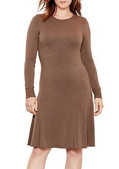 Lauren Ralph Lauren Plus Size French Terry Dress
