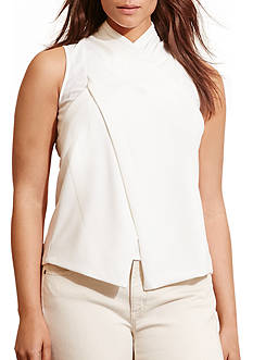 Lauren Ralph Lauren Plus Size Falterio Sleeveless Knit Top