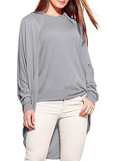 Lauren Ralph Lauren Plus Size Silk-Blend Cardigan