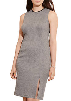 Lauren Ralph Lauren Plus Size Herringbone Sheath Dress