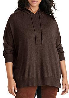 Lauren Ralph Lauren Plus Size Cotton Jersey Hoodie
