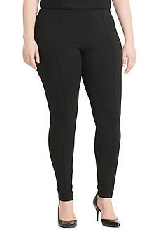 Lauren Ralph Lauren Seamed Ponte Leggings