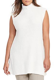 Lauren Ralph Lauren Ribbed Sleeveless Sweater