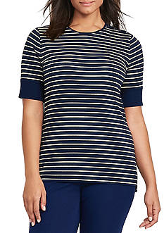 Lauren Ralph Lauren Plus Size Haeliegh Knit Top