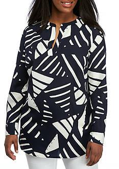 Lauren Ralph Lauren Plus Size Marlen Long Sleeve Shirt