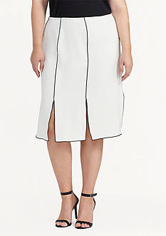 Lauren Ralph Lauren Plus Size Rheaninne Full Skirt