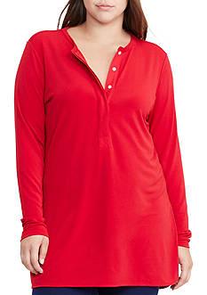 Lauren Ralph Lauren Plus Size Jersey Henley