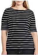 Lauren Ralph Lauren Plus Size Judy Elbow Sleeve