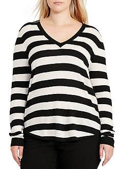 Lauren Ralph Lauren Plus Size Haivyn Long Sleeve Sweater