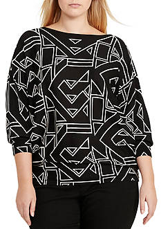 Lauren Ralph Lauren Plus Size Bahary Long Sleeve Sweater