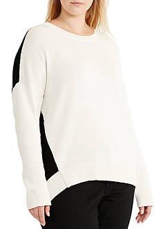 Lauren Ralph Lauren Plus Size Jillaine Long Sleeve Sweater