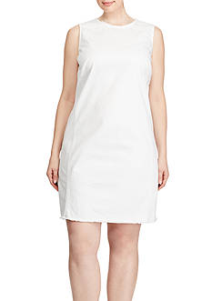 Lauren Ralph Lauren Plus Size Denim Sheath Dress