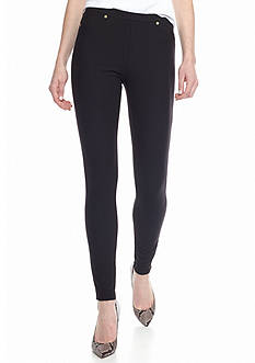 MICHAEL Michael Kors Solid Pull-On Leggings