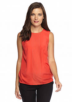 MICHAEL Michael Kors Embellished Sleeveless Blouse
