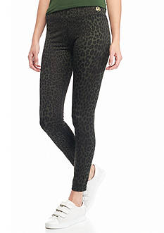 MICHAEL Michael Kors Panther Print Leggings
