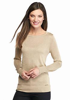 MICHAEL Michael Kors Cowl Back Long Sleeve Sweater