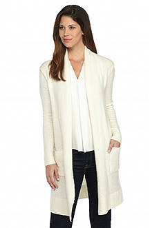 MICHAEL Michael Kors Long Sleeve Easy Cardigan