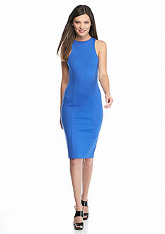 MICHAEL Michael Kors Sporty Knit Halter Dress