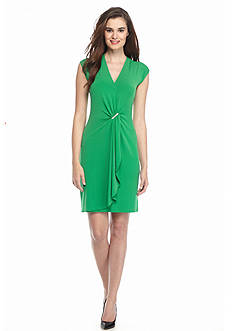 MICHAEL Michael Kors Cap Sleeve Wrap Dress