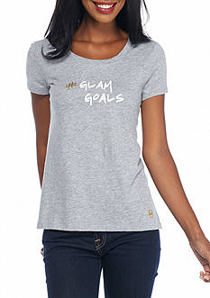 MICHAEL Michael Kors Glam Goals Logo Tee