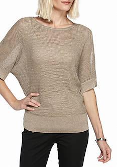 MICHAEL Michael Kors Metallic Dolman Sweater