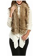 MICHAEL Michael Kors Faux Fur Trim Sweater Vest