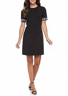 MICHAEL Michael Kors Embellished Sleeve Dress