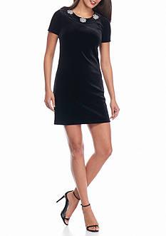 MICHAEL Michael Kors Velvet Shift Dress