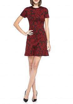MICHAEL Michael Kors Belle Epoque Print Ponte Dress