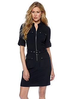 MICHAEL Michael Kors Belted Shirt Dress