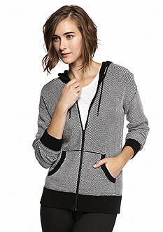 MICHAEL Michael Kors Texture Stitch Hooded Jacket