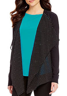MICHAEL Michael Kors Tiny Dot Mix Cardigan