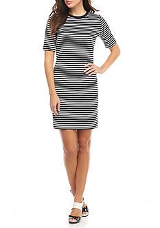 MICHAEL Michael Kors Turner Stripe Dress