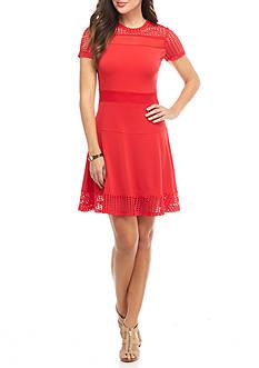 MICHAEL Michael Kors Mesh Combo Dress