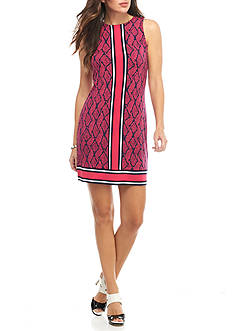 MICHAEL Michael Kors Graphic Mamba Border Dress