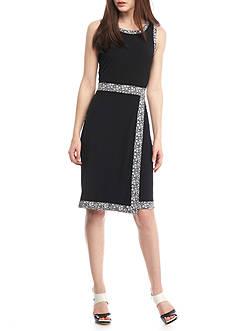 MICHAEL Michael Kors Floral Faux Wrap Dress