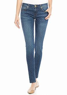 MICHAEL Michael Kors Polka Dot Izzy Skinny Jeans