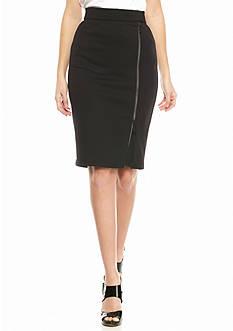 MICHAEL Michael Kors Zip Front Pencil Skirt