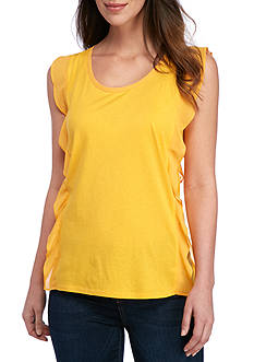 MICHAEL Michael Kors Ruffle Side Top