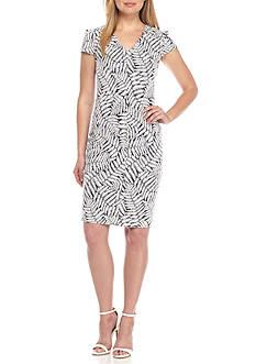 MICHAEL Michael Kors Fern Textured Bodycon Dress