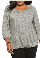 MICHAEL Michael Kors Plus Size Desert Tweed