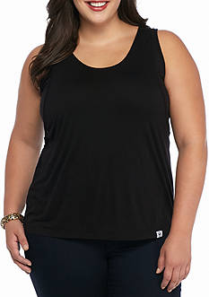 MICHAEL Michael Kors Plus Size Double Layer Tank