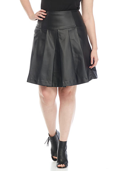 MICHAEL Michael Kors Plus Size Fit-And-Flare Skirt