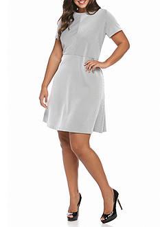 MICHAEL Michael Kors Plus Size Digital Texture Dress