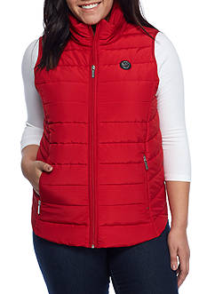 MICHAEL Michael Kors Plus Size Michael Kors Polyfill Vest