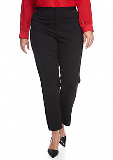 MICHAEL Michael Kors Plus Size Velvet Side Stripe Pant