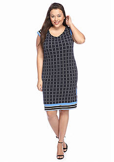 MICHAEL Michael Kors Plus Size Printed Shift Dress