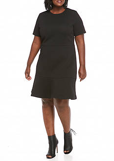 MICHAEL Michael Kors Plus Size Fit and Flare Dress