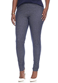 MICHAEL Michael Kors Plus Size Bungalow Dot Leggings