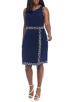 MICHAEL Michael Kors Plus Size Shift Dress